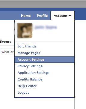 Facebook security feature