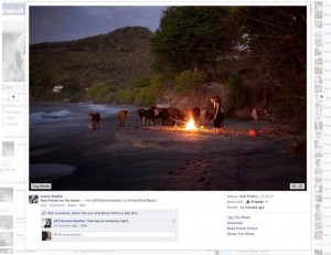 Facebook Replaces Black Photo Viewer