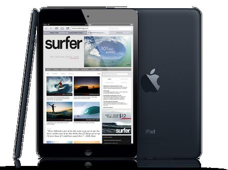 iPad mini design